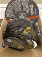 Large Lot of Many Grinding Discs