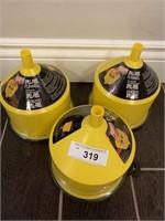 (3) Lisle Spill Free Funnels