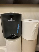 Paper Towels and New Dispenser
