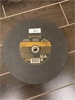 Blackstone Metal Cutting Chop Saw Wheels