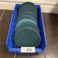 Large Lot of Abrasive Pads