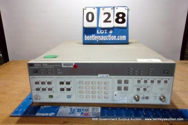 HP 3325B SYNTHESIZER/FUNCTION GENERATOR | Bentley