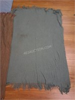 Lot of 3 Asstd Blankets/ Throws - AS/IS