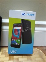Alcatel U50 Smart Phone with Charger -No Sim AS/IS