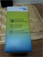 Alcatel U50 Smart Phone with Charger - Powers up