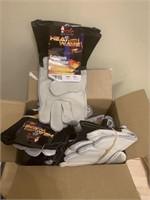 Lot of Heat Wave Fabricators Gloves