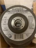 """Lot of Metabo 4 1/2"""" Cutting Wheels"""