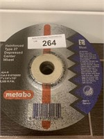 "Lot of Metabo 7"" Cutting Wheels"