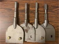 Lot-HD Air Tool Chisels