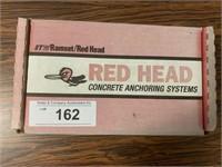 """REDHEAD 1/4"""" x 1 3/4"""" Wedge Anchors"""