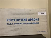 3 Boxes of Polyethylene Aprons