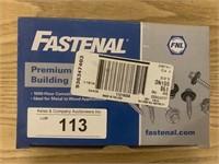 "Fastenal #9-15 x 1-1/2"" Metal Building Screws"