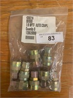 "Lot-1/8"" NPTF Auto Couplers"