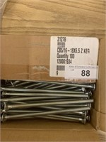 CB5/16-18X6.5 Carriage Bolts