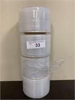 Lot-4 Small Rolls Shrink Wrap