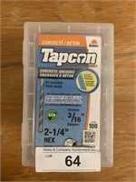 TAPCON Concrete Anchors