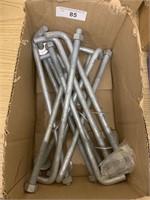 Galvanized Fasteners Hooks