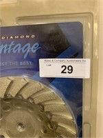 "Vantage 7"" Diamond Cup Wheel"