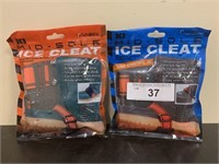 Lot of 2 Sets- Ice Cleats
