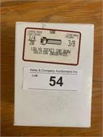 Box Zinc 1/4X20 3/8 HD Socket Cap Screws