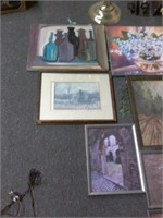 Lot of 13 Asstd Art