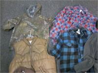 Lot of 7 Asstd Mens Jackets