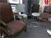 Lot of 5 Asstd Chairs