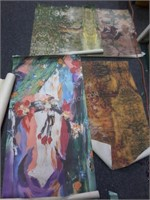 Lot of 11 Assorted Art