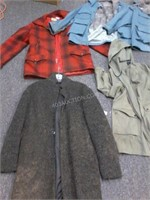 Lot of 6 Asstd Ladies Coats