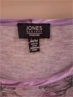 Jones New York Ladies Night Shirt Sz M