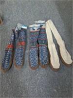 Lot of 4 Ladies Sock Boots Sz M & L
