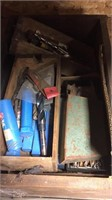 Wood Drawer Full Of Drill Bits