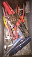 Box Lot With Files, Screwdrivers and Misc. tools