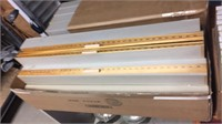 12- Boxes Of Yard Sticks- 6 Per Box