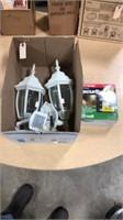 Security Light & 2- Motion Detector Outside Lights