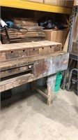 Wooden Work Bench w/ Drawers- Rough Shape