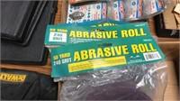 4- Rolls of  Abrasive Sandpaper