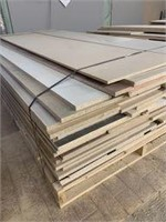 Large Twin Pallet of Sheet and Offcut Stock