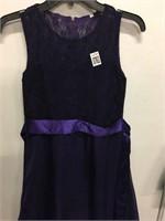 ELEGANT LACE LONG PAGENT EVENING DRESS SIZE 150