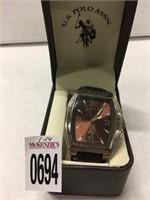 U.S. POLO ASSN. WATCH USED (IN SHOWCASE)