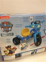 FISHER PRICE PAW PATROL LIGHT AND SOUNDS TRIKE