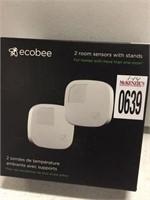 ECOBEE 2 ROOM SENSORS WITH STANDS