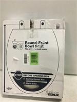 """ROUND TOILET BOWL SEAT 16 5/8"""""""