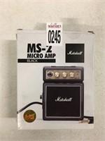MARSHALLS MICRO AMP