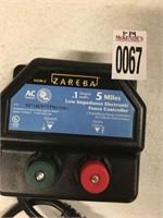 ZAREBA ELECTRONIC FENCE CONTROLLER