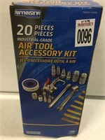 20 PIECES AIR TOOL ACCESSORY KIT