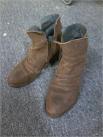 Goodyear Ladies Leather Boots Sz 38