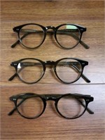 Lot of 3 Culter and Gross of London Frames