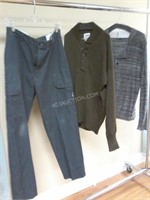 Televangelist's Character Outfit -Pants 32/Top L