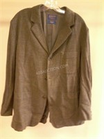 Pendleton Mens Merino Wool Jacket Sz L